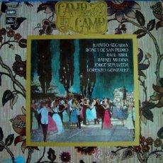 Discos de vinilo: LP-VINILO CAMPEONES DEL CAMP 33 RPM. Lote 55048221