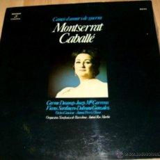 Discos de vinilo: LP-VINILO MONTSERRAT CABALLE CANÇÓ D'AMOR I DE GUERRA 33 RPM. Lote 55048367