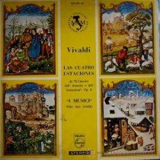 Discos de vinilo: LP-VINILO VIVALDI LAS CUATRO ESTACIONES 33 RPM. Lote 55048400