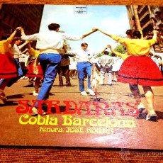 Discos de vinilo: LP-VINILO SARDANAS COBLA BARCELONA 33 RPM. Lote 55048463