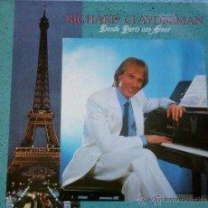 Discos de vinilo: LP - VINILO RICHARD CLAYDERMAN DESDE PARIS CON AMOR 33 RPM. Lote 55048506
