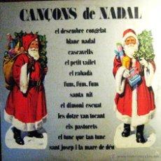 Discos de vinilo: LP - VINILO CANÇONS DE NADAL 33 RPM. Lote 55048560