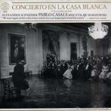 Discos de vinilo: LP - VINILO CONCIERTO EN LA CASA BLANCA 33 RPM. Lote 55048608