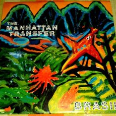 Discos de vinilo: LP - VINILO THE MANHATTAN TRANSFER BRASIL 33 RPM. Lote 55048640