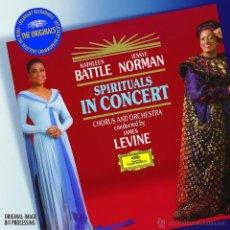 Discos de vinilo: LP - VINILO SPIRITUALS IN CONCERT KATHLEEN BATTLE / JESSYE 33 RPM. Lote 55048723