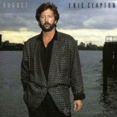 Discos de vinilo: LP - VINILO ERIC CLAPTON AUGUST 33 RPM. Lote 55049181