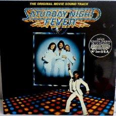 Discos de vinilo: LP - VINILO SATURDAY NIGHT FEVER ALBUM 2 DISCOS 33 RPM. Lote 55049412