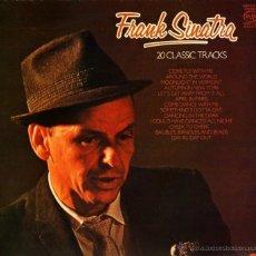 Discos de vinilo: LP - FRANK SINATRA 20 CLASSIC TRACKS 33 RPM. Lote 55049713