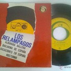 Discos de vinilo: LOS RELAMPAGOS ALBORADA GALLEGA. Lote 55053922
