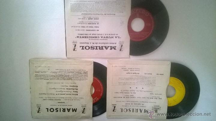 Discos de vinilo: MARISOL LOTE 3 EP - Foto 2 - 55055456