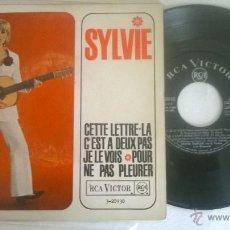 Discos de vinilo: SYLVIE CETTE LETTRE. Lote 55056125