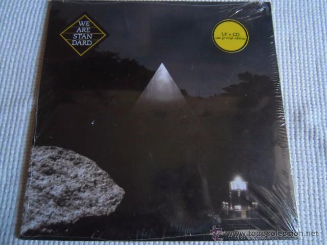 WE ARE STANDARD - '' S/T '' VINYL LP + CD 2008 SPAIN SEALED (Música - Discos - LP Vinilo - Grupos Españoles de los 90 a la actualidad)