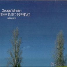 Discos de vinilo: GEORGE WINSTON : WINTER INTO SPRING (SOLO PIANO). LP, WINDHAM HILL RDS. (GER), 1982 . Lote 55059142
