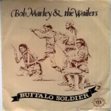 Discos de vinilo: BOB MARLEY. BUFFALO SOLDIER/ BUFFALO (DUB). ISLAND, ESP. 1983 SINGLE PROMOCIONAL. Lote 108362646
