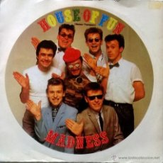 Discos de vinilo: MADNESS. HOUSE OF FUN/ DON'T LOOK BACK. STIFF, ESP. 1982 SINGLE. Lote 55059976