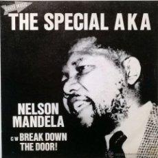 Discos de vinilo: SPECIAL AKA. NELSON MANDELA/ BREACK DOWN THE DOOR . TWO-TONE, ESP. 1984 (SINGLE PROMOCIONAL) . Lote 55060262