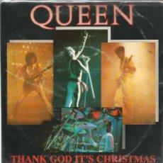 Discos de vinilo: EP QUEEN : THANK GOD IT´S CHRISTMAS ( EDICION BRASIL ) . Lote 55062223