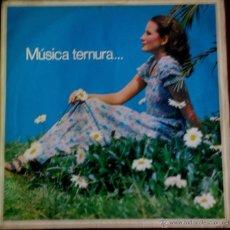 Discos de vinilo: LP BRASILEÑO DE ARTISTAS VARIOS MÚSICA TERNURA AÑO 1974. Lote 55062332