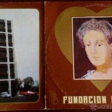 Discos de vinilo: LP ARGENTINO Y DOBLE DE ARTISTAS VARIOS FUNDACIÓN FAVALORO AÑO 1981. Lote 55062398