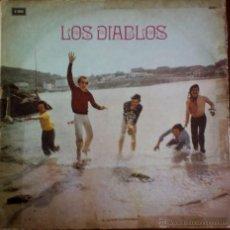 Discos de vinilo: LP ARGENTINO DE LOS DIABLOS AÑO 1975. Lote 55062528