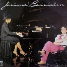 Discos de vinilo: LP FRANCÉS DE JÉRÔME BERRICHON AÑO 1979. Lote 55062551