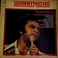 Discos de vinilo: LP ARGENTINO Y RECOPILATORIO DE JOHNNY MATHIS AÑO 1976. Lote 55062956