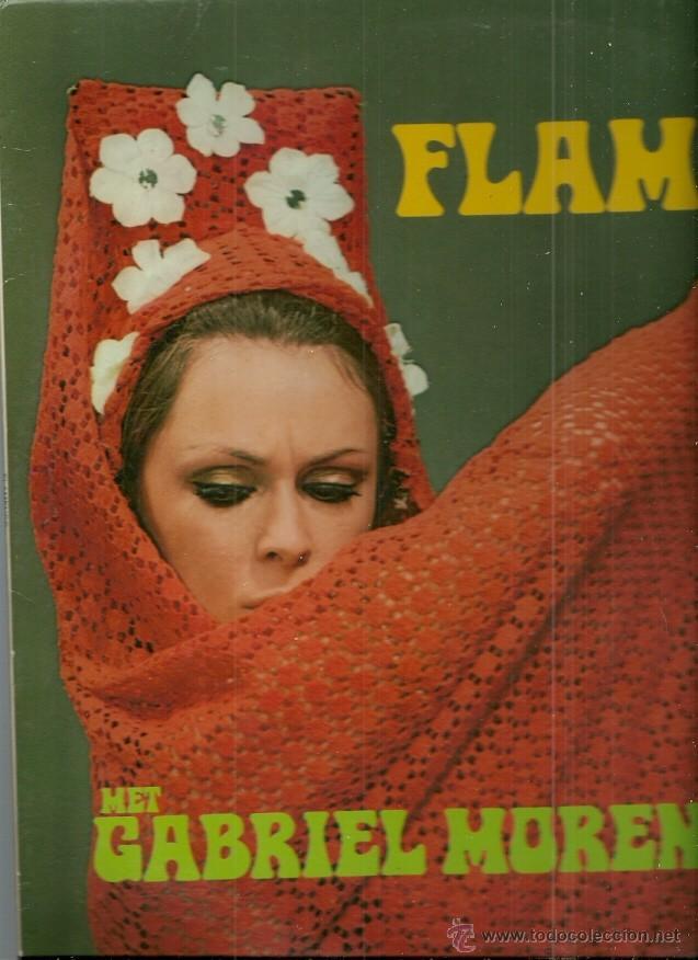 GABRIEL MORENO LP SELLO HISPAVOX CON LUCERO TENA (Música - Discos - LP Vinilo - Flamenco, Canción española y Cuplé)