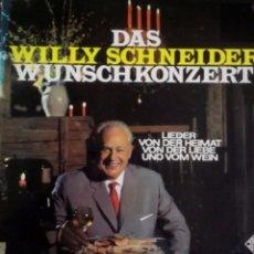 Discos de vinilo: LP ALEMÁN DE WILLY SCHNEIDER AÑO 1971. Lote 55063090