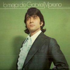Discos de vinilo: GABRIEL MORENO LP SELLO HISPAVOX AÑO 1973 EDITADO EN ESPAÑA . Lote 55063207
