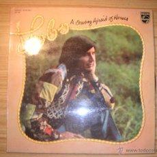 Discos de vinilo: A COWBOY AFRAID OF HORSES (LOBO) ESPAÑA, 1985. Lote 55063578