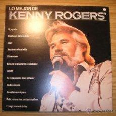Discos de vinilo: LO MEJOR DE KENNY ROGERS (ESPAÑA, 1980) + LP DE REGALO. Lote 55063580