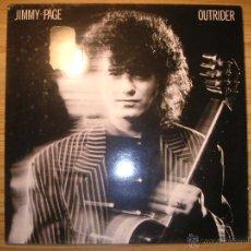 Discos de vinilo: OUTRIDER (JIMMY PAGE) ESPAÑA, 1988 - EX LED ZEPPELIN. Lote 55063592