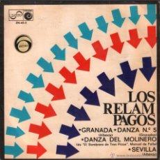 Discos de vinilo: LOS RELAMPAGOS - GRANADA / SEVILLA / DANZA Nº 5 / DANZA DEL MOLINERO / EP ZAFIRO DE 1968 RF-239. Lote 55065998