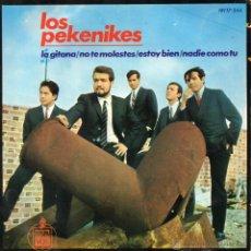 Discos de vinilo: PEKENIKES, EP, LA GITANA + 3, AÑO 1965. Lote 55072141