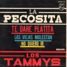 Discos de vinilo: TAMMYS, EP, LA PECOSITA + 3, AÑO 1963. Lote 55072374