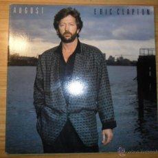 Discos de vinilo: AUGUST (ERIC CLAPTON) CANADA, 1986 - CON PHIL COLLINS Y TINA TURNER . Lote 55073906