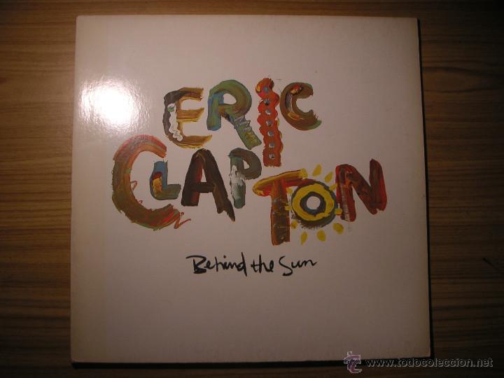 BEHIND THE SUN (ERIC CLAPTON) CANADÁ, 1985 (Música - Discos - LP Vinilo - Rock & Roll)