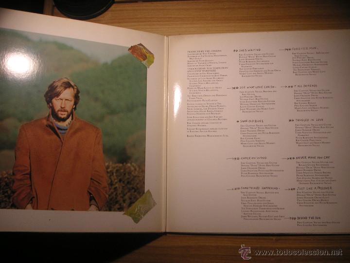 Discos de vinilo: Behind the sun (Eric Clapton) Canadá, 1985 - Foto 3 - 55074002