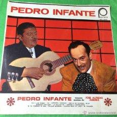 Discos de vinilo: PEDRO INFANTE INTERPRETA CANCIONES DE JOSÉ ALFREDO JIMÉNEZ - PEERLESS - EDITADO EN MÉXICO. Lote 214248366
