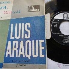 Discos de vinilo: LUIS ARAQUE CON ORQUESTA Y COROS - EP 1962. Lote 55080792