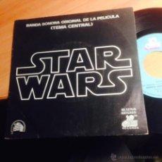 Discos de vinilo: STAR WARS B.S.O. SINGLE ESPAÑA 1977 (EP14). Lote 108444258
