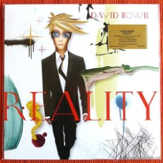 Discos de vinilo: DAVID BOWIE - REALITY 180G LP VINILO VERDE MUSIC ON VINYL PRECINTADO. Lote 55083157