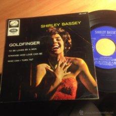 Discos de vinilo: SHIRLEY BASSEY ( GOLDFINGER JAMES BOND 007 +3) EP 1965 ESPAÑA (EP14). Lote 55084629
