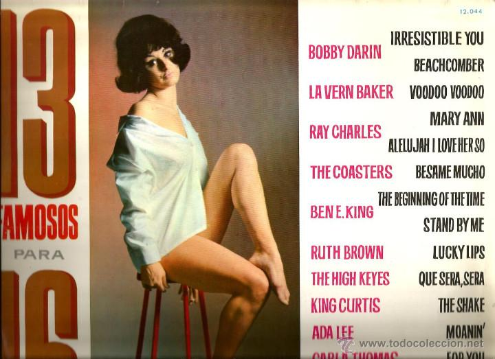 LP LAVERN BAKER, THE COASTERS, BEN E. KING, RUTH BROWN, THE HIGH KEYES, KING CURTIS, CARLA TOMAS,ETC (Música - Discos - LP Vinilo - Funk, Soul y Black Music)
