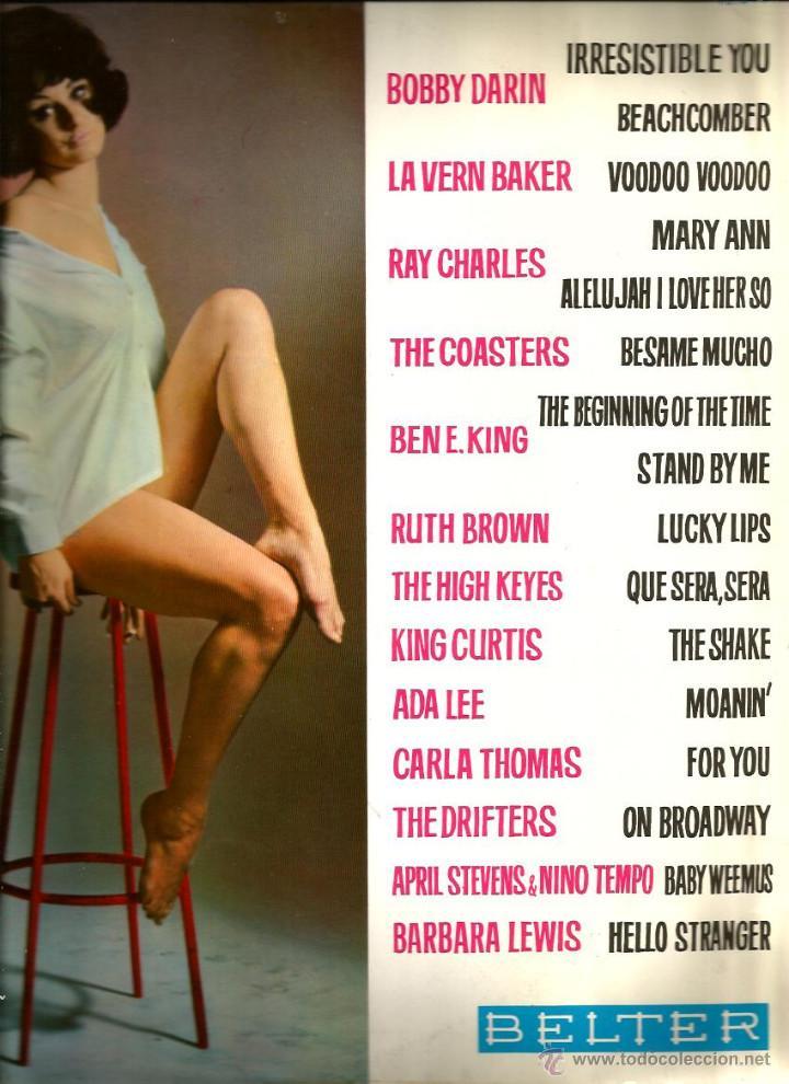 Discos de vinilo: LP LAVERN BAKER, THE COASTERS, BEN E. KING, RUTH BROWN, THE HIGH KEYES, KING CURTIS, CARLA TOMAS,ETC - Foto 2 - 55085407