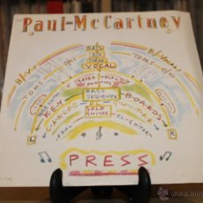 Discos de vinilo: PAUL MCCARTNEY SG PRESS 80'S SPAIN PROMO. Lote 55087136