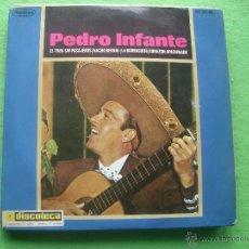 Disques de vinyle: PEDRO INFANTE EL TREN SIN PASAJEROS EP 1965 PEERLESS. Lote 55088425