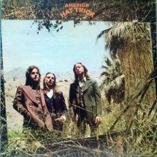 Discos de vinilo: AMERICA. HAT TRICK. WARNER BROS, GERMANY 1973 LP ORIGINAL + ENCARTE. Lote 55090837