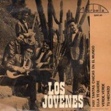 Discos de vinilo: JOVENES, EP, ELLA TE QUIERE (SHE LOVES YOU - BEATLES) + 3, AÑO 1964. Lote 55091715