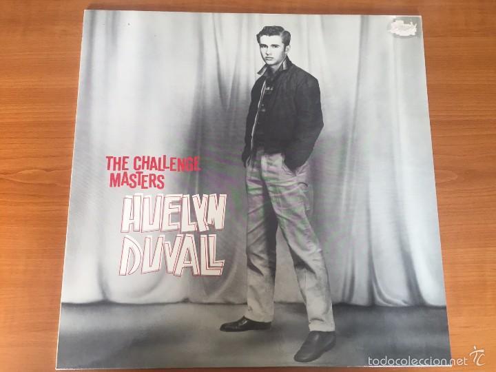 HUELYN DUVALL - THE CHALLENGE MASTERS - LP - BEAR FAMILY RECORDS - 1987- GERMANY (Música - Discos de Vinilo - Maxi Singles - Rock & Roll)